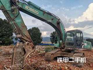 曲靖神鋼SK250-8挖掘機實拍圖片