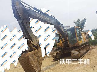 徐州沃爾沃EC210B挖掘機實拍圖片