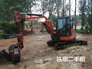 陕西-商洛市二手久保田KX155-5挖掘机实拍照片