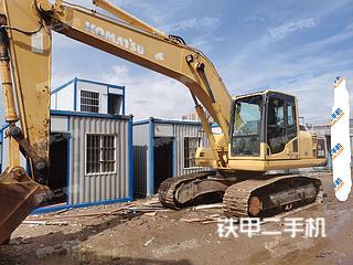 中山小松PC200-8挖掘機實拍圖片