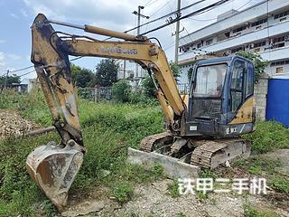河池柳工CLG906C挖掘機實拍圖片