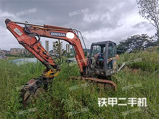 贵州-黔南布依族苗族自治州二手斗山DH60-7挖掘机实拍照片