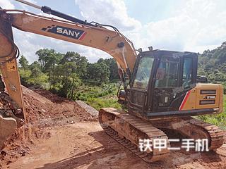 玉林三一重工SY155H挖掘機實拍圖片