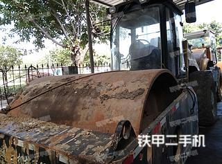 四川-德阳市二手洛阳路通LT322S压路机实拍照片