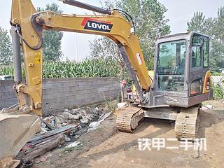 山东-日照市二手雷沃重工FR60E2挖掘机实拍照片