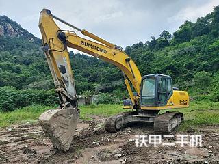 住友SH240-5挖掘機實拍圖片