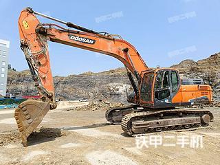 淄博斗山DX300LC-9C挖掘機實拍圖片
