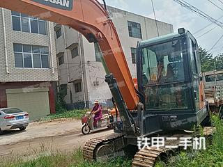 周口斗山DX60E-9CN挖掘機實拍圖片