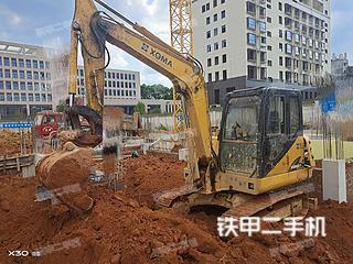 廈工XG806F挖掘機實拍圖片