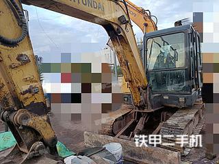 現代R60-7挖掘機實拍圖片