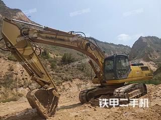 住友SH350HD-3B挖掘機實拍圖片