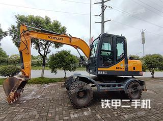 徐州新源XYB75W-9挖掘機實拍圖片