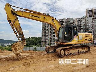 住友SH210-5挖掘機實拍圖片