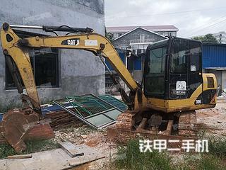 湖南-株洲市二手卡特彼勒306D液压挖掘机实拍照片