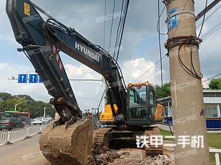現代R205VSN挖掘機實拍圖片