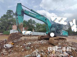 恩施神鋼SK210LC-8挖掘機實拍圖片