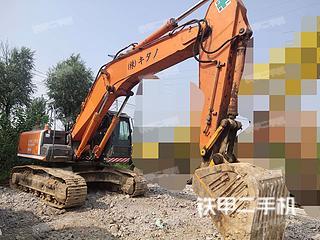 东营日立ZX350H挖掘机实拍图片