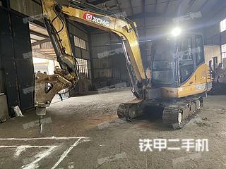 浙江-杭州市二手徐工XE60D挖掘机实拍照片