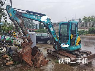 河南-南阳市二手久保田KX155-3SZ挖掘机实拍照片