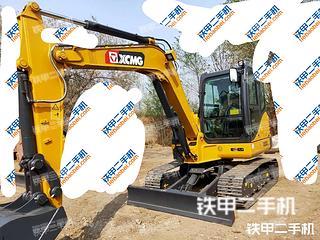 河北-邢台市二手徐工XE60DA挖掘机实拍照片