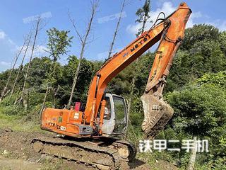 恩施日立EX120-5挖掘機實拍圖片