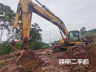 四川-自贡市二手小松PC450-8挖掘机实拍照片