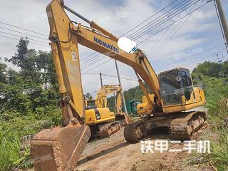江西-九江市二手小松PC200-8N1挖掘机实拍照片