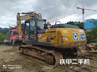 徐工XE215CA挖掘機實拍圖片