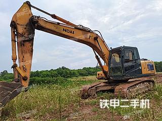 現代R225LC-7挖掘機實拍圖片