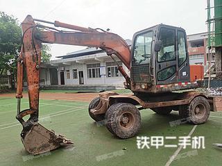 重慶新源XY65W-8挖掘機實拍圖片