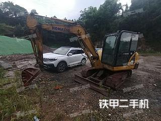 四川-南充市二手小松PC56-7挖掘机实拍照片