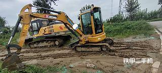 山东-德州市二手徐工XE35U挖掘机实拍照片