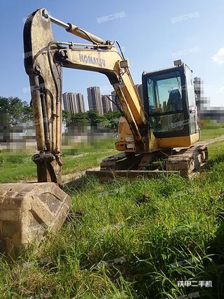 陕西-西安市二手小松PC56-7挖掘机实拍照片
