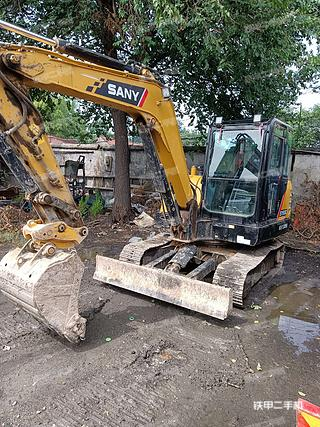 淄博三一重工SY55C挖掘機實拍圖片