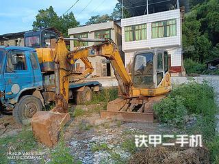 四川-广安市二手徐工XE60CA挖掘机实拍照片