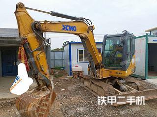 宁夏-银川市二手徐工XE60D挖掘机实拍照片