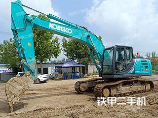淄博神鋼SK210LC-10挖掘機實拍圖片