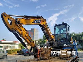 河南-郑州市二手三一重工SY60C挖掘机实拍照片