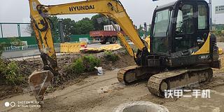 江苏-泰州市二手现代R60-7挖掘机实拍照片