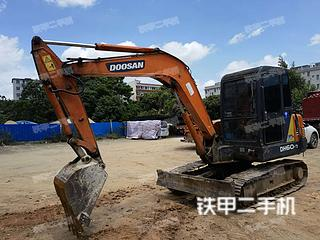 斗山DH55-V挖掘機實拍圖片