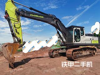 中聯重科ZE375EK-10挖掘機實拍圖片