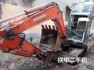 河南-周口市二手斗山DH60-7挖掘机实拍照片