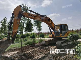 淄博三一重工SY215C挖掘機實拍圖片