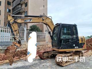 卡特彼勒307D液壓挖掘機實拍圖片