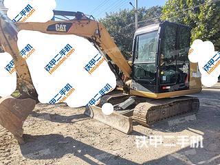 河北-保定市场二手卡特彼勒305.5E2小型液压挖掘机实拍照片