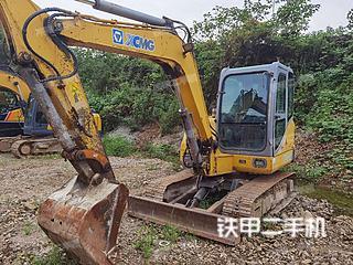 浙江-杭州市二手徐工XE60CA挖掘机实拍照片