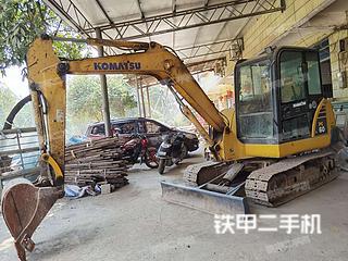 广西-柳州市二手小松PC56-7挖掘机实拍照片