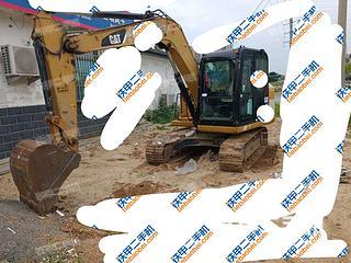 卡特彼勒307E液壓挖掘機實拍圖片