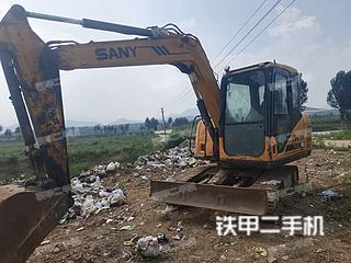 河北-秦皇岛市二手三一重工SY65C挖掘机实拍照片