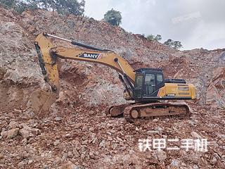 三一重工SY365BH挖掘機實拍圖片